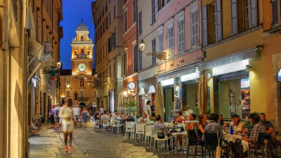 O Palácio do Governador, em Parma, na Itália  - Getty Images