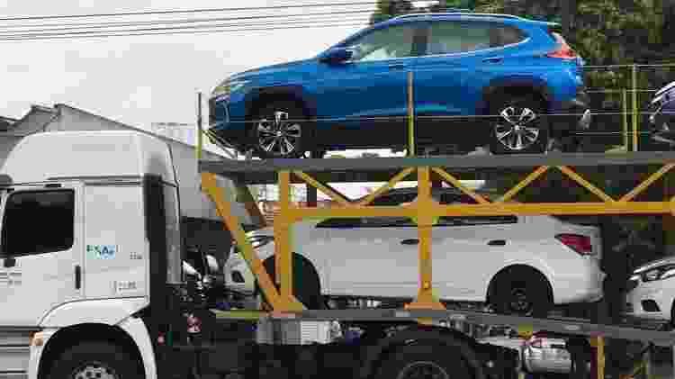 Partiu, concessionária: unidades do SUV já estão em transporte - Rodrigo Ronconi/Acervo Pessoal