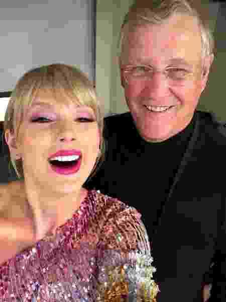 Taylor Swift e o pai, Scott - Reprodução/Instagram