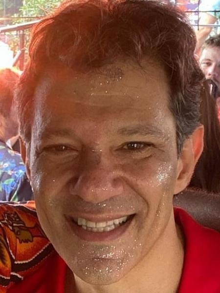 Fernando Haddad no Carnaval de Rua de SP - Reprodução/Instagram