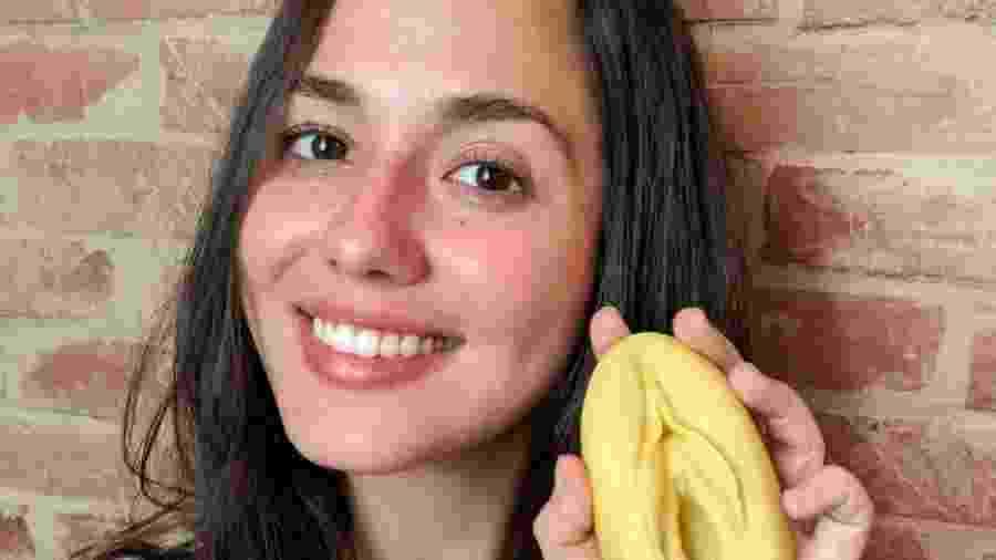 Bióloga, Victoria Castro criou a página Diga Vulva no Instagram para falar com mulheres - Arquivo Pessoal