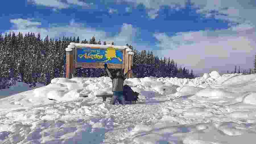 Gabriel explorava o Alasca quando decidiu passar a quarentena no mesmo local em que esteve Christopher McCandless - Arquivo pessoal