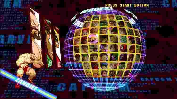 Marvel vs. Capcom 2 seleção de personagens - Reprodução - Reprodução