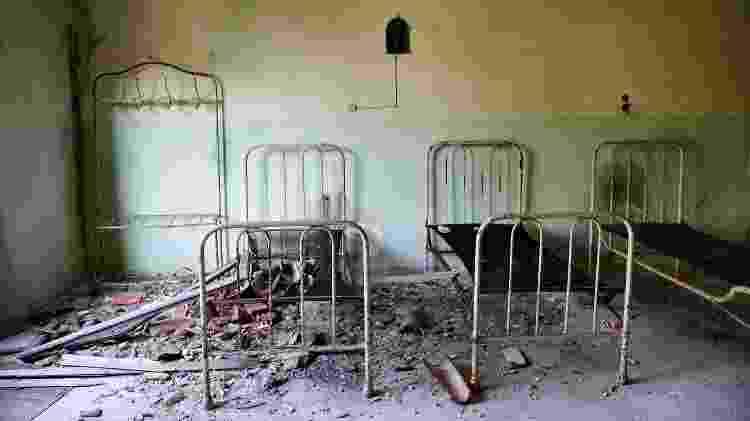 Ruínas do Hospital da ilha de Poveglia - Getty Images
