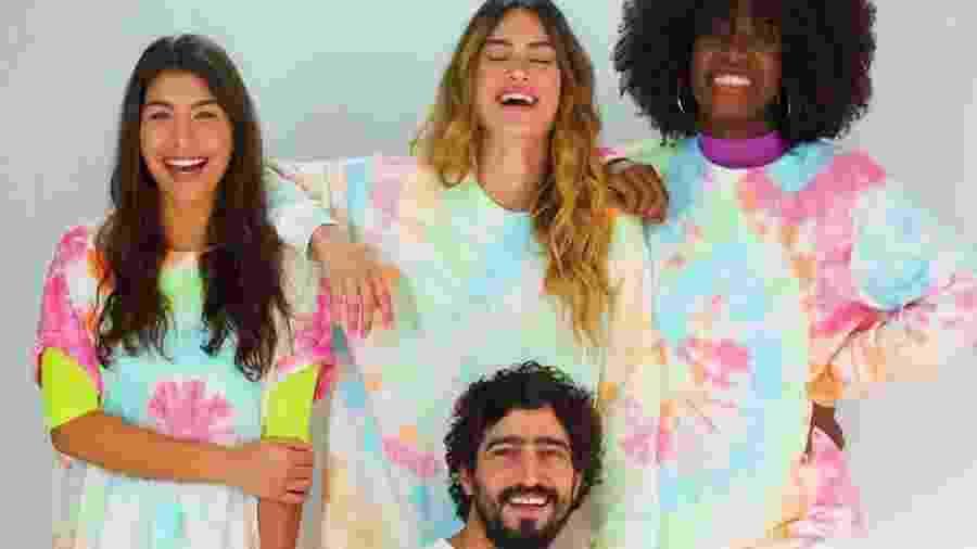 Thaila Ayala e Renato Góes em campanha da nova marca - Instagram/Reprodução