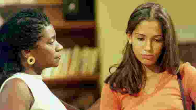 Zezé Motta e Camila Pitanga em cena de 'A Próxima Vítima' - Nelson Di Rago/Globo - Nelson Di Rago/Globo