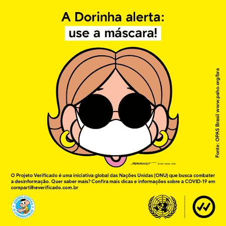Use máscara - Mônica 3 - Divulgação - Divulgação