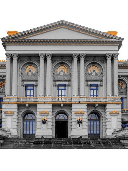 O atual Museu do Ipiranga, na capital paulista, só ganharia forma com Pedro II, em 1885. Mas com a derrubada do último monarca do Império brasileiro, após a Proclamação da República, os republicanos assumiram a obra. - Divulgação