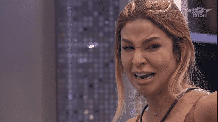 BBB 21: Kerline chora ao falar de discussão com Lucas Penteado - Reprodução/Globoplay - Reprodução/Globoplay