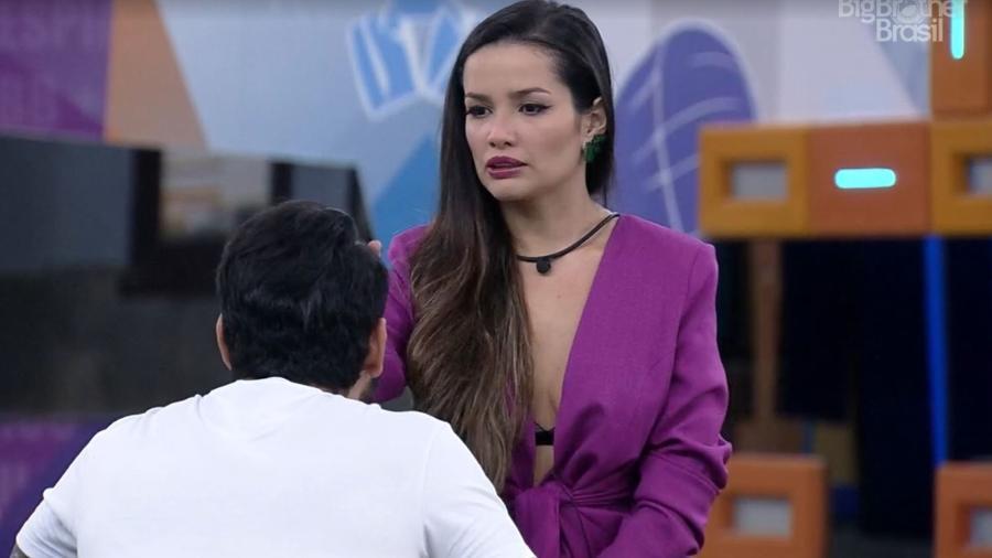 BBB 21: Juliette e Rodolffo conversam em noite de eliminação - Reprodução/ Globoplay