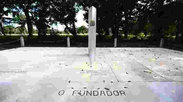 Túmulo vazio de Juscelino Kubitschek, no cemitério Campo da Esperança, em Brasília - Marcelo Camargo/Agência Brasil - Marcelo Camargo/Agência Brasil