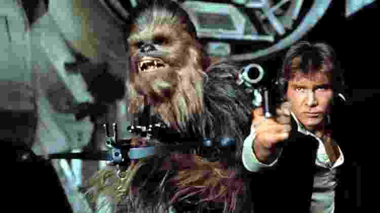chewbacca e han solo - divulgação/Lucasfilm/Disney - divulgação/Lucasfilm/Disney