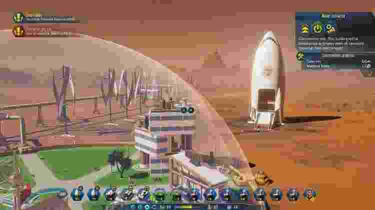 Surviving Mars - Reprodução/Surviving Mars - Reprodução/Surviving Mars