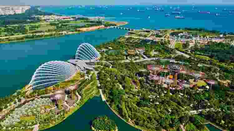 Cingapura é conhecida por sua limpeza impecável e imagem pública imaculada - Getty Images - Getty Images