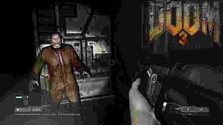 Doom 3 - Reprodução - Reprodução