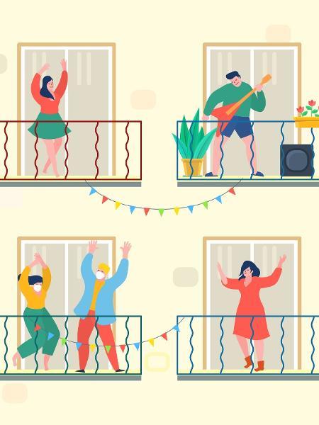 Se eu não puder dançar, não é a minha pandemia - VectorStory/Getty Images/iStockphoto