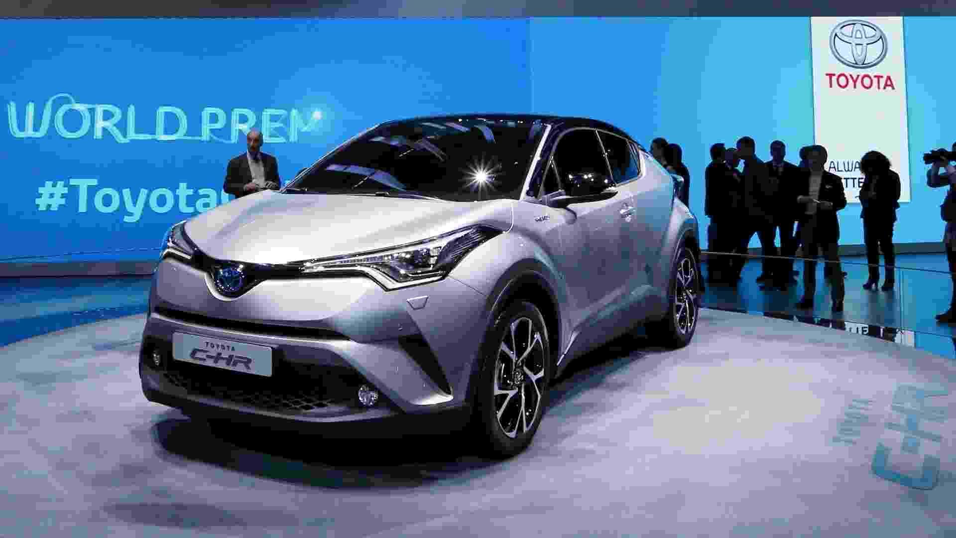Toyota C-HR em versão de produção - Denis Balibouse/Reuters
