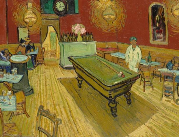Van Gogh - O Café à Noite na Place Lamartine, 1888 - HANDOUT/AFP