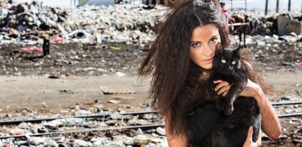 """Maite Perroni é Esmeralda, a protagonista de """"A Gata"""", que estreia dia 15/8 no SBT - Divulgação/Televisa"""