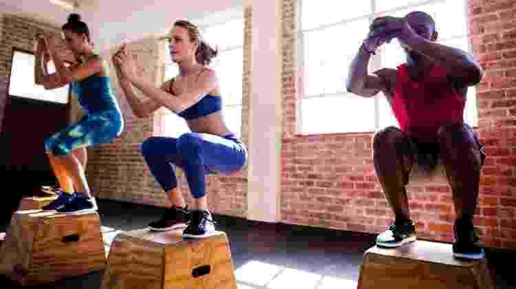 Crossfit, aula de crossfit, treino em grupo - Getty Images - Getty Images