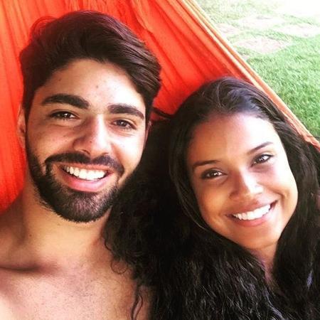 Rafael Cupello e Aline Dias anunciam gravidez - Reprodução/Instagram/_linedias