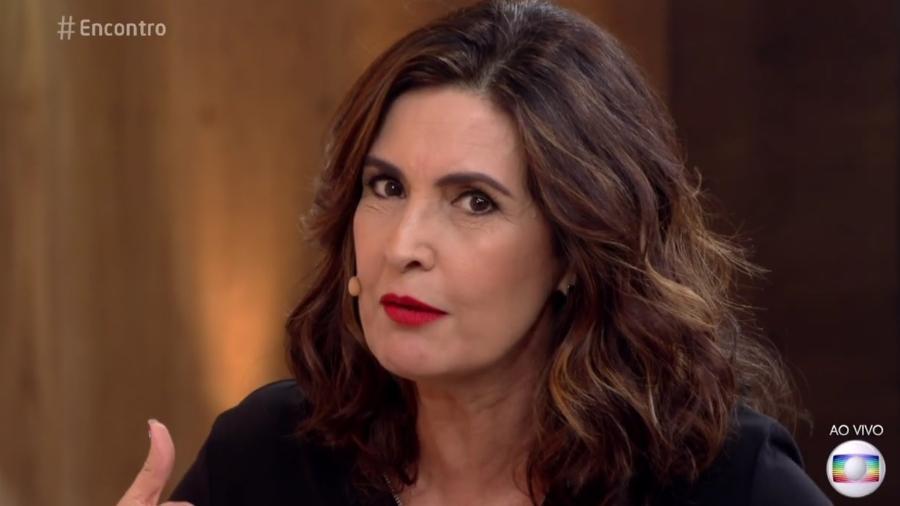 """Fátima Bernardes comete gafe e diz que final do """"BBB"""" com mulheres é inedito - Reprodução/TV Globo"""