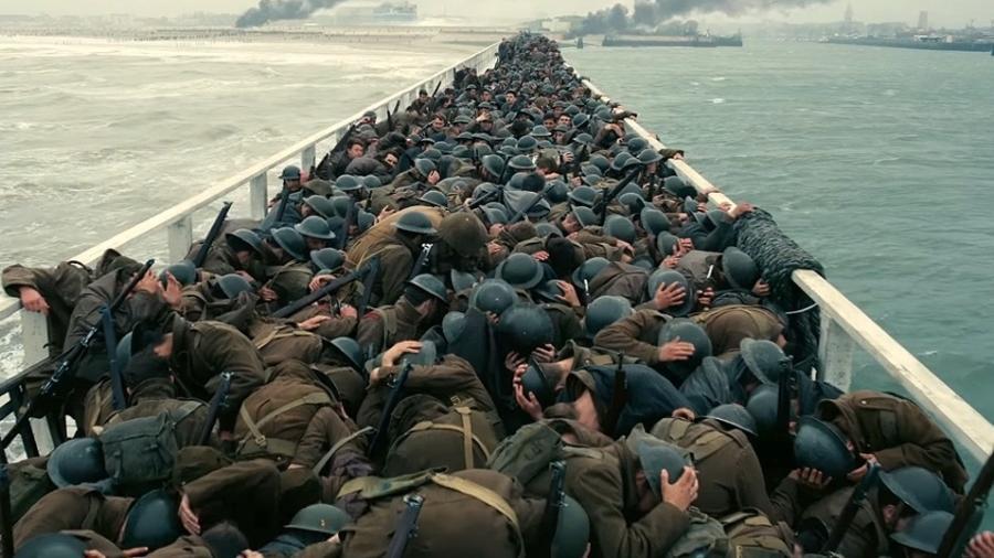 """Cena de """"Dunkirk"""", novo filme de Christopher Nolan - Reprodução"""