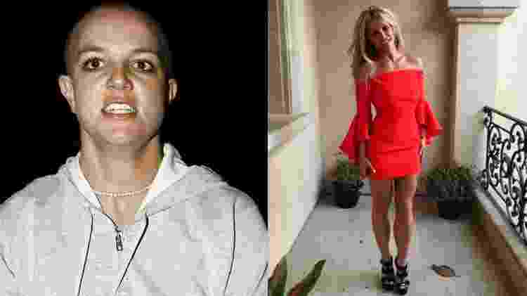 Reprodução/TMZ - Reprodução/Instagram Britneyspears