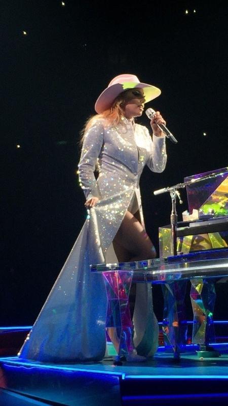 """Lady Gaga faz seu primeiro show da turnê """"Joanne"""" em Vancouver, no Canadá - Reprodução"""