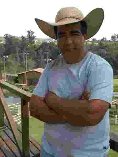 """Clebis, o caseiro de """"A Fazenda"""", quer ser dono do próprio negócio após quase dez anos no reality da Record  - Arquivo pessoal"""