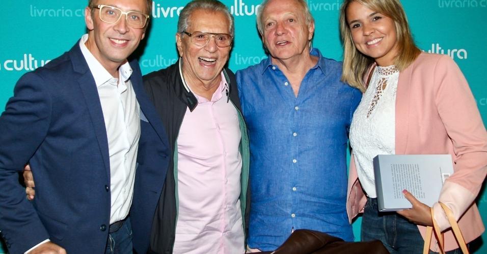 Lan amento do livro biografia da televis o brasileira for Carlo scarpa biografia