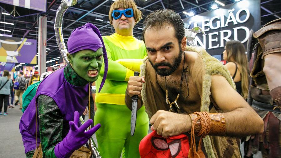 Público capricha no cosplay na CCXP 2017 - Mariana Pekin/UOL