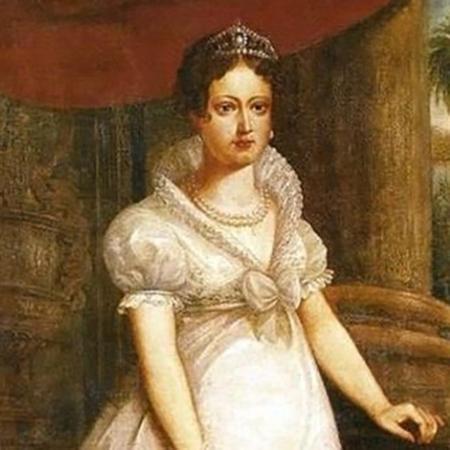 Maria Leopoldina, que se casou com D. Pedro I para firmar uma parceria diplomática entre Portugal e Áustria - Domínio público