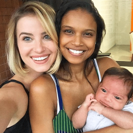 Barbara França, Aline Dias e Bernardo - Reprodução/Instagram/barbarafrancaa