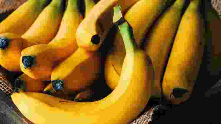 Banana; frutas - Getty Images - Getty Images