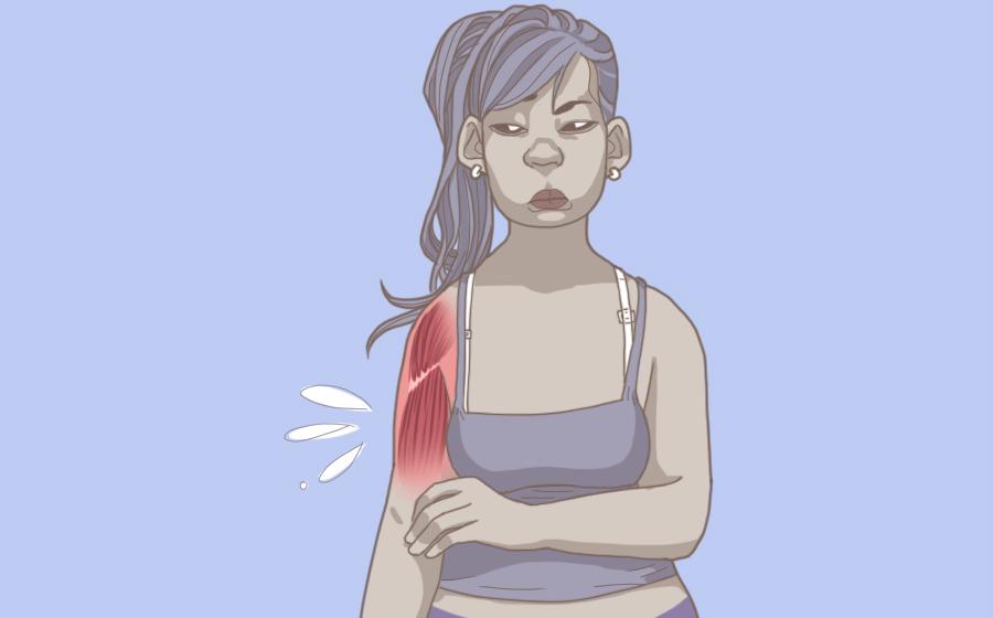 Ilustração para álbum 8 sinais de que você bebe menos água do que precisa