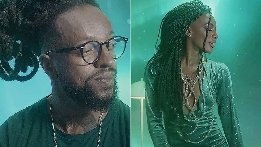 """Pathy Dejesus é musa de Rael no videoclipe de """"Aurora Boreal"""" - Divulgação"""