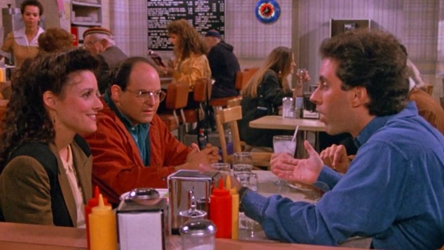 """Imagem do polêmico episódio """"The Contest"""" de """"Seinfeld""""; uma das sitcoms mais populares da história, série não está na Netflix - Reprodução"""