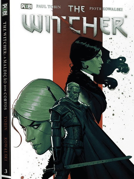 """Capa da HQ """"The Witcher: A Maldição dos Corvos"""" - Reprodução - Reprodução"""