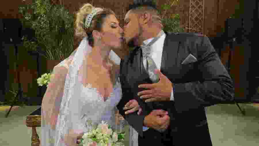 Tati Minerato e Marcelo Galatico se casam em um sítio em São Bernardo do Campo, São Paulo - Renato Cipriano / Divulgação