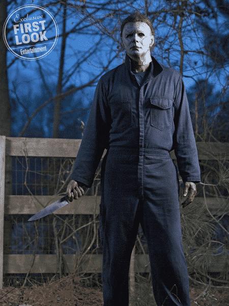 """Michael Meyers em foto oficial do novo """"Halloween"""" - Reprodução/Entertainment Weekly"""