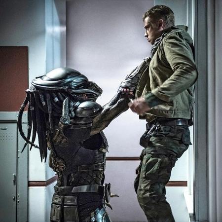 """Cena do filme """"O Predador"""" (2018) - Reprodução/Entertainment Weekly"""