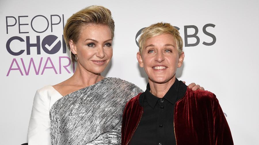 Ellen Degeneres e Portia de Rossi - Getty Images