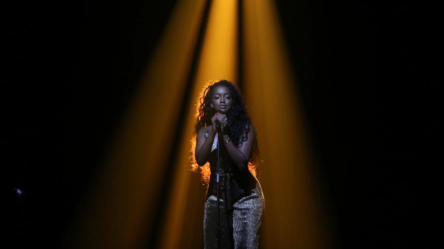 "Iza apresenta o programa ""Música Boa Ao Vivo"", do Multishow - Gianne Carvalho/Multishow"