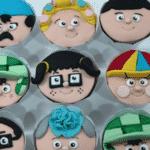 Mais detalhes dos cupcakes inspirados por Dona Florinda, Seu Madruga, Chaves, Dona Clotilde, Kiko, Chiquinha e Nhonho - Reprodução/Instagram