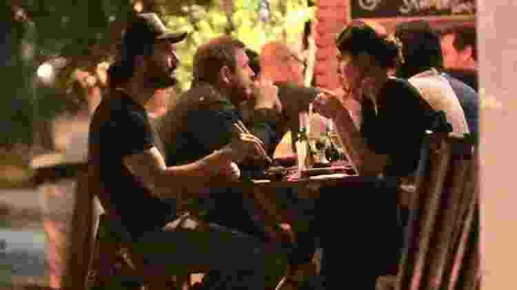 Rodrigo Santoro e Mel Fronckowiak jantam no Rio de Janeiro - Thiago Martins/AgNews - Thiago Martins/AgNews