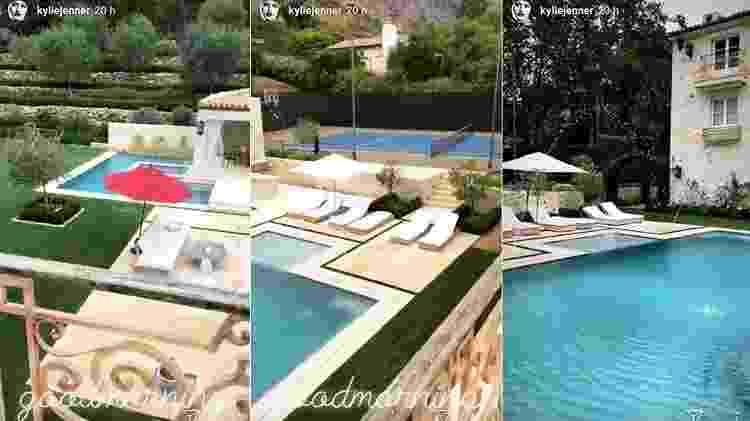 Casa da Kylie Jenner - Reprodução/Instagram - Reprodução/Instagram