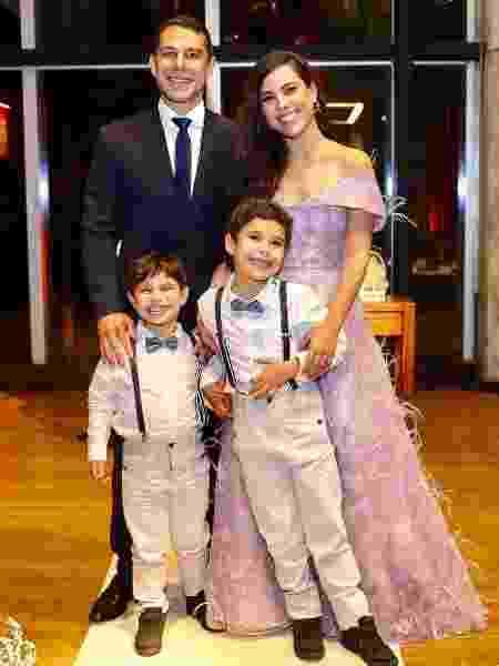 Wanessa Camargo, Marcus Buaiz e os filhos - Brazil News