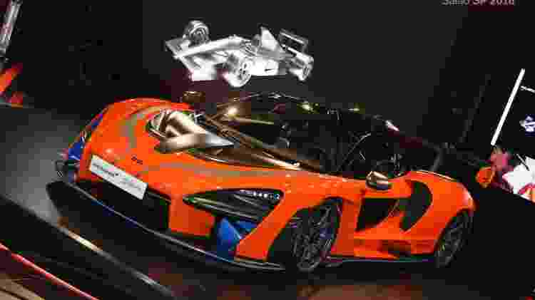 McLaren Senna was developed with the participation of Bruno Senna, Ayrton's nephew - Murilo Góes / UOL