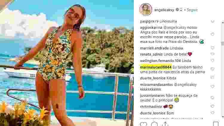 angélica pinta 3 - Reprodução/Instagram - Reprodução/Instagram